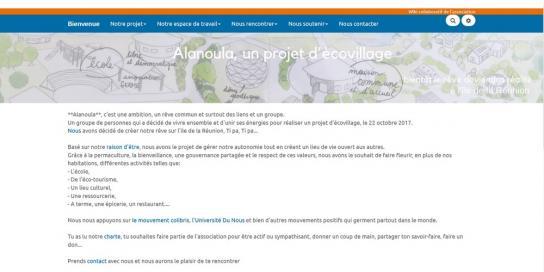 Alanoula Lien vers: https://colibris-wiki.org/ecovillage-reunion/