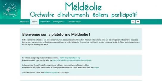 Méldéolie Lien vers: https://colibris-wiki.org/meldeolie/